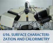 U16-Surface Characterization and Calorimetry Unit