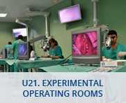 U21. Experimental operating rooms
