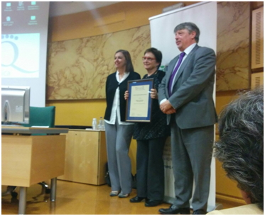 Nanbiosis-U6-Concepció Rovira from ICMAB Prize of Research Excellence of the RSEQ