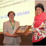 """MICELA PRIZE"" by the Spanish Committee of Detergents, Surfactants and Related Products (CED) TO DR. CONXITA SOLANS."