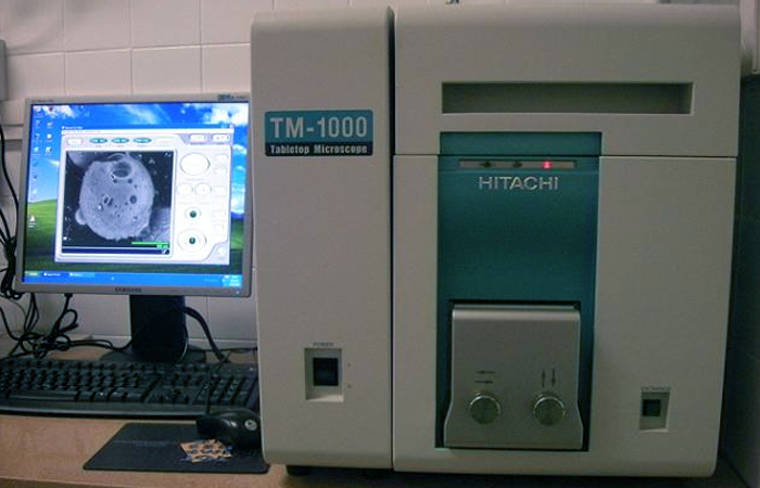 U12-E15. SEM Hitachi TM-1000 (Hitachi)