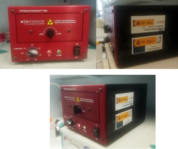 Upgrade of UV / Ozone cleaner for NanoeNabler