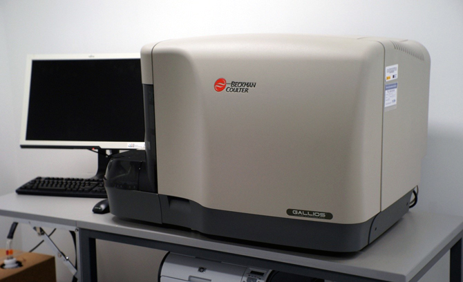 U28-E18. Beckman Coulter Galios flow cytometer